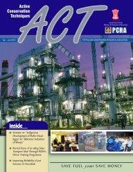 ACT Apr-Jun10.p65 - Petroleum Conservation Research Association