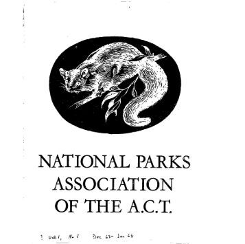 Vol 1 No 5 Dec 1963 - Jan 1964 - National Parks Association of the ...