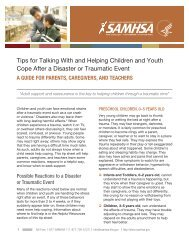 Tips for Talking With and Helping Children and Youth Cope After a ...