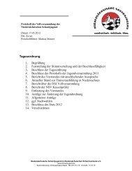 Protokoll der Vollversammlung vom 17.05.12