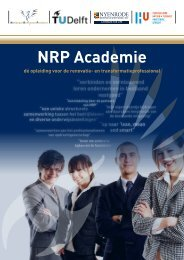 NRP Academie - Nationaal Renovatie Platform