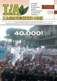 L'Agrotecnico Oggi novembre 06 - Collegio Nazionale degli ...