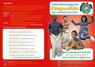 Das Ferienprogramm für Kinder zwischen 8 und 13 ... - Berlin.de