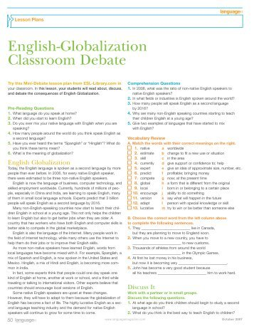 english as a killer language Rather than seeing english as the 'killer language' par excellence, the  contributors probe ways in which languages are being used side by side to  complement.