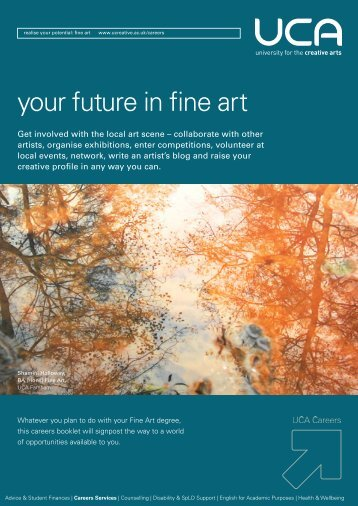 your future in fine art - UCA Community