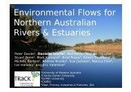 Environmental Flows for Northern Australian Rivers & Estuaries