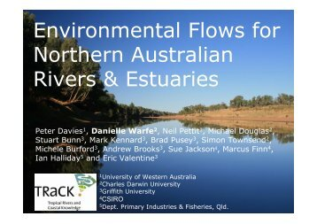 Environmental Flows for Northern Australian Rivers & Estuaries