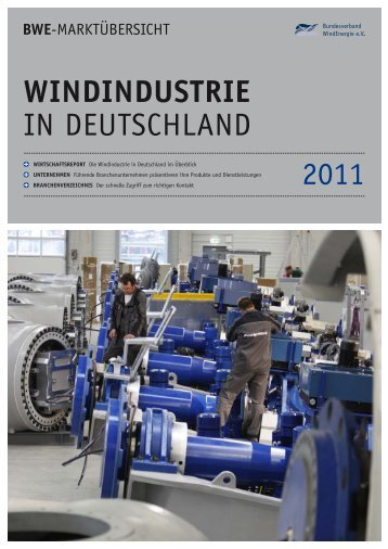 2011 WINDINDUSTRIE in DeutschlanD - Wind-Energy-Market