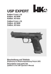 USP EXPERT - Waffen Braun