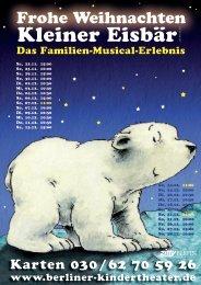 Kleiner Eisbär - Berliner Kindertheater
