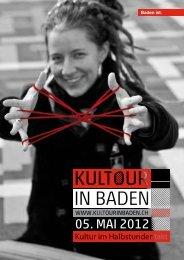 Der rote Faden - KulTour in Baden