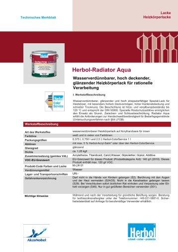 Herbol-Radiator Aqua