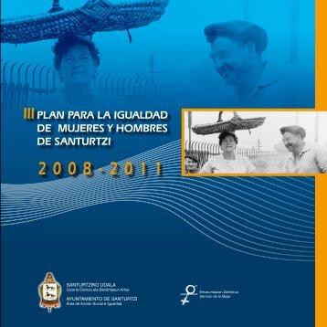 2008-2011 - III Plan para la igualdad de mujeres y hombres en el ...