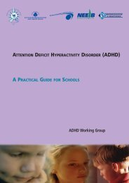 ADHD Guide 4 Schools new - Southern Education and Library Board