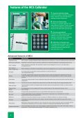 Features of the MC4 Calibrator - INCAL Instrumentos - Page 4
