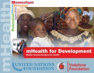 mHealth for Development - Vital Wave Consulting