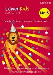 Nr.5 - LöwenKids Magazin