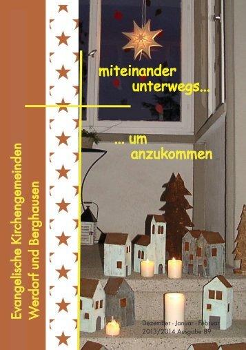 89 / 2013 - Evangelischen Kirchengemeinde Werdorf
