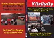KIZILDERE DEVRİMİN YOLUDUR! - Yürüyüş