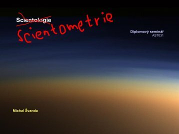 scientometrie a publikace odborných článků