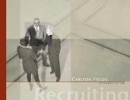 CAR-3206 RecruitingBrochur copy - Carlton Fields
