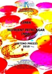NUTRIE LINEA ENT PETRI A (NPA) AGAR - Lickson