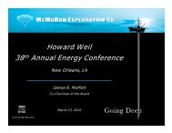 Howard Weil 38th Annual Energy Conference ... - Rational Investing