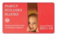 2012 Annual Report 2.indd - Family Building Blocks