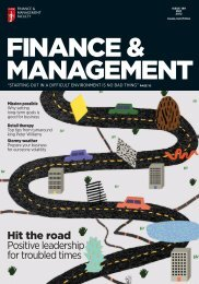 Hit the road Positive leadership for troubled times - ICAEW
