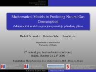 Mathematical Models in Predicting Natural Gas Consumption ...