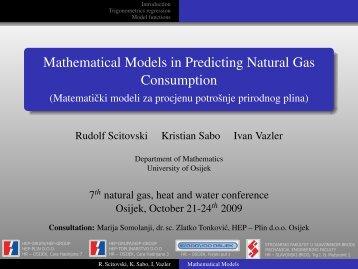 Mathematical Models in Predicting Natural Gas Consumption ...