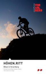 Folder Mountainbike-Touren 2011 - Vorderland