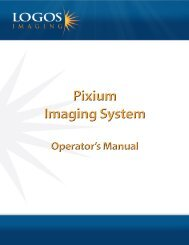 Introducing the Pixium Portable System - Logos Imaging LLC