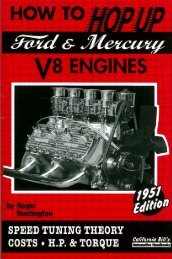 how to hop up ford & mercury v8 engines - CaliforniaBills.com