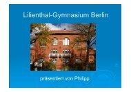 Lilienthal-Gymnasium Berlin - uni at school