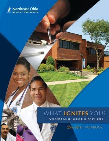 to read the 2012-13 Viewbook - Northeast Ohio Medical University