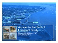 Access to the Port of Liverpool Study - the TravelWise Merseyside ...