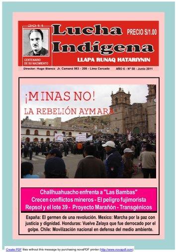 Lucha Indígena No. 58 PDF