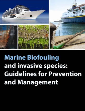 Guidelines on Marine Biofouling and Invasive Species (GISP 2008)