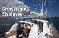 Testbericht in der Zeitschrift Yacht - Blauwassersegeln CH