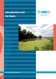 Jahresbericht 2006 Der Rhein - Riwa