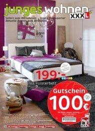 Gutschein - XXXL Möbelhäuser