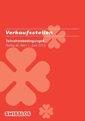 Teilnahme über die Swisslos-Verkaufsstellen