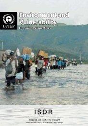 Environment and Vulnerability - Emerging ... - PreventionWeb