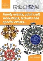 Lectures - Edinburgh Museums