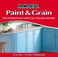 Easily transforms most surfaces into a beautiful grain ... - John Nicholls