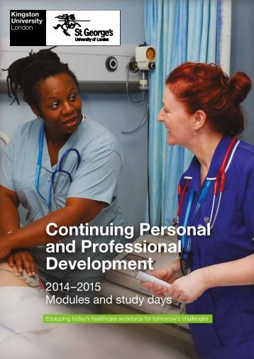 (CPPD) prospectus - Faculty of Health, Social Care and Education ...