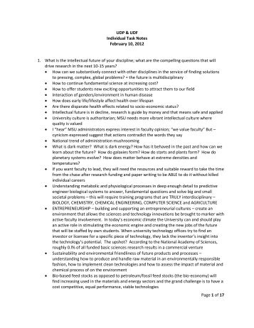 Page 1 of 17 UDP & UDF Individual Task Notes February 10, 2012 1 ...