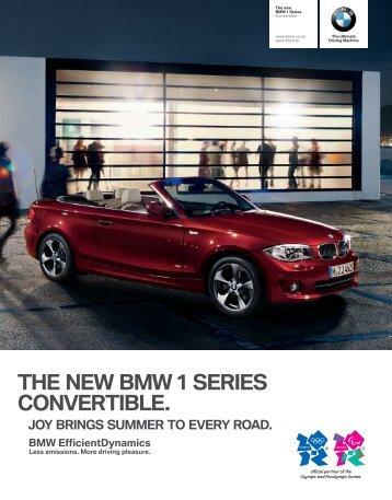 The Interactive 1 Series Convertible Brochure - Kearys