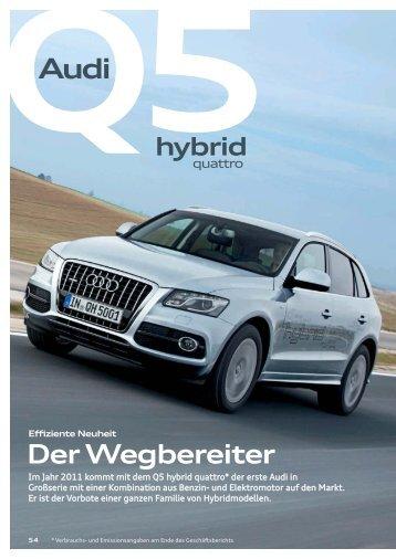 hybrid - Audi Geschäftsbericht 2012